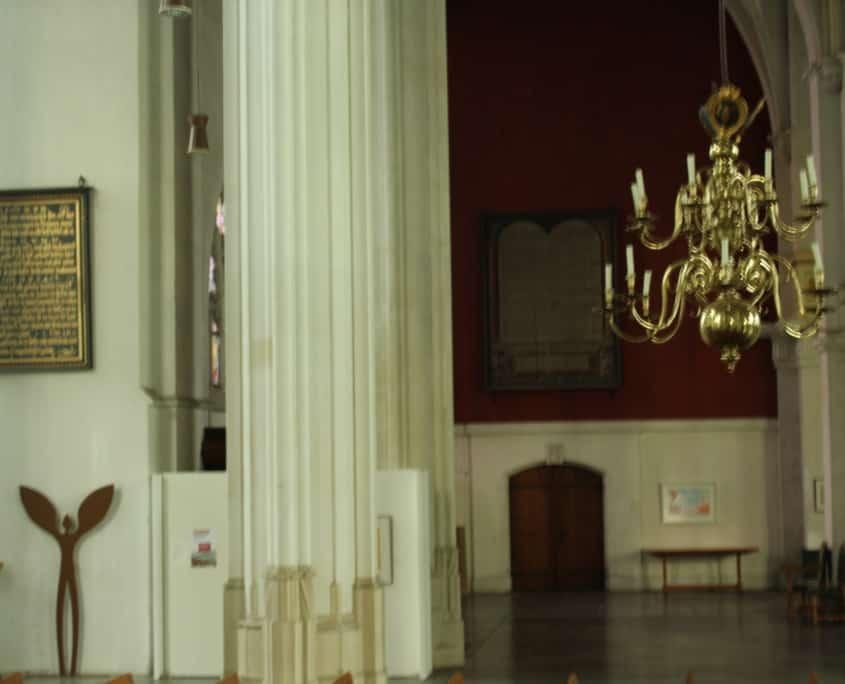 Stevenskerk, net na zonsopgang