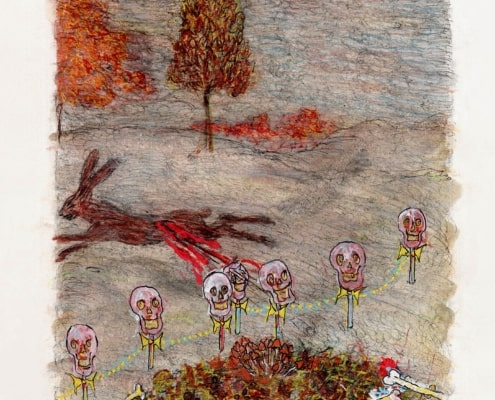 Ada Dispa: herfst. Een van de miniaturen uit Seizoenen van het Leven: een hedendaags getijden- en pelgrimsboek